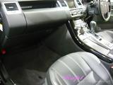 レンジローバー 車内クリーニング