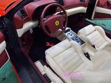 フェラーリ 355F1 車内クリーニング