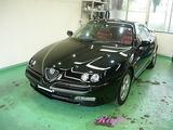 アルファロメオ GTV ボディコーティング施工
