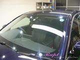 BMW 525 窓ガラス撥水加工