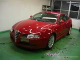 アルファロメオ GT ボディコーティング施工
