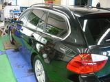 BMW 325 スモークフィルム貼り