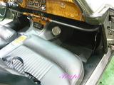 ジャガー MK10 車内クリーニング