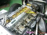 ジャガー Eタイプ エンジンルームクリーニング