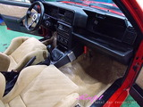 ランチア デルタインテグラーレ 車内クリーニング