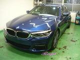 BMW 523d ボディコーティング施工