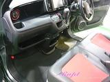 ホンダ N-ONE 車内クリーニング
