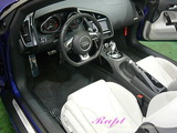 アウディ R8 車内クリーニング