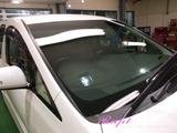 トヨタ アルファード 窓ガラス撥水加工