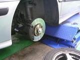 SAAB タイヤ交換