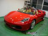 フェラーリ 430スパイダー ボディコーティング施工