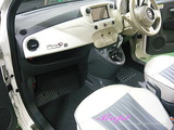 FIAT 500c 車内クリーニング