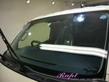 トヨタ ハイエース 窓ガラス撥水加工