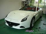 フェラーリ カリフォルニアT ボディコーティング施工