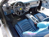 フェラーリ 360スパイダー 車内クリーニング
