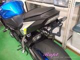 新型GSX-S1000 フェンダーレスKIT取り付け