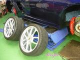 ポルシェ 718スパイダー ホイールコーティング