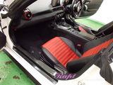 アバルト 124スパイダー 車内クリーニング