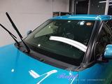 トヨタ ライズ 窓ガラス撥水加工