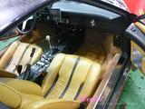 フェラーリ 308 車内クリーニング