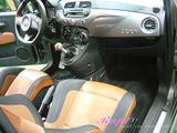 FIAT アバルト595ツーリズモ 車内クリーニング