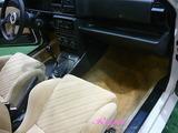ランチア デルタ インテグラーレ 車内クリーニング