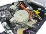 フィアット 1500 エンジンルームクリーニング