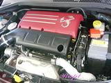 アバルト 695 エンジンルームクリーニング