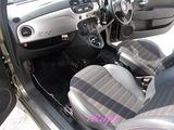 フィアァト 500ディーゼル 車内クリーニング