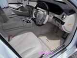 メルセデスベンツ S560 車内クリーニング