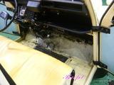 シトロエン 2CV 車内クリーニング