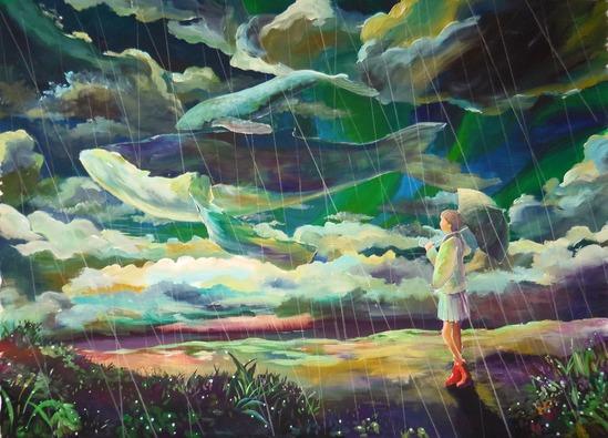『雨雲のかなたに』