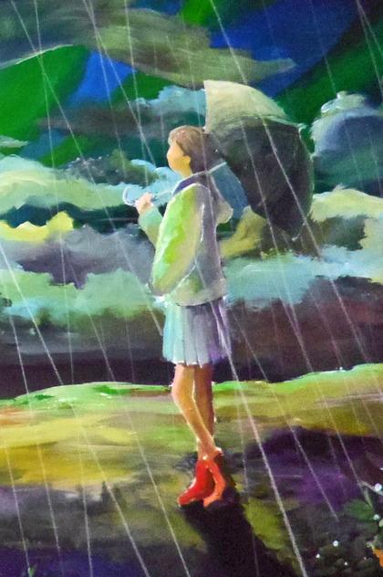 『雨雲のかなたに』2