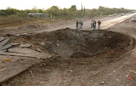 メキシコでトラック爆破事故 http://www.reuters.com/