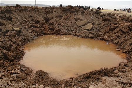ペルー隕石落下