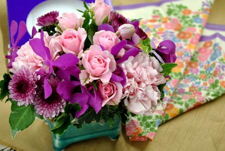 【日比谷花壇オリジナル】 2016年 敬老の日ギフト おしゃれな雑貨とお花のギフト