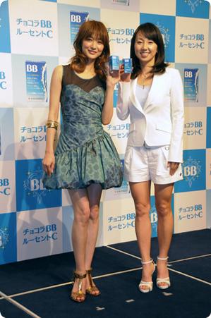 東尾理子さん&富岡佳子さん