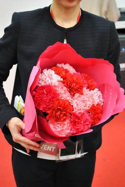 【日比谷花壇オリジナル】2017年 母の日ギフト 日比谷花壇にしかつくれない花束