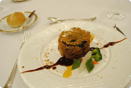 酵素を使った牛フィレ肉のロティ