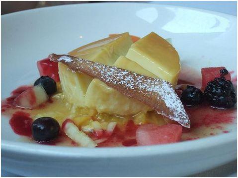 Lemon Grass and Passion Fruit Flan