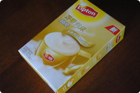 上海 スーパーでお買いもの カルフール(家楽福)編 立頓浮香泡沫茶