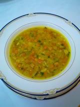 野菜スープを、プロバンスの家庭料理のお味に☆