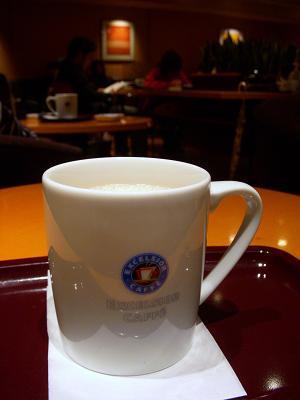 エクセルシオールカフェ 豆乳ロイヤルミルクティー