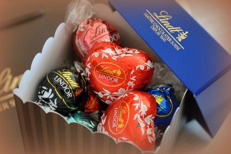 2015年 バレンタインに買ったチョコレート バレンタイン限定リンドールギフトボックス