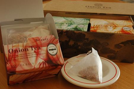 アンチエイジング効果のあるお茶 【ピエトロ オニオンティー】