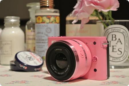 Nikon 1 J1ピンク