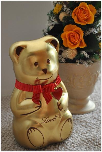 リンツチョコレートのクリスマス限定☆リンツテディ