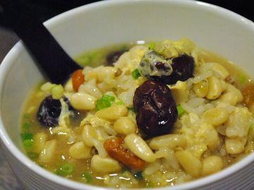 五穀米の雑炊