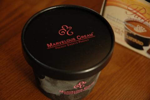 マーベラスクリーム 【プレミアムパルフェ】 ティラミス&ベルジャン・ノアゼット・ショコラ