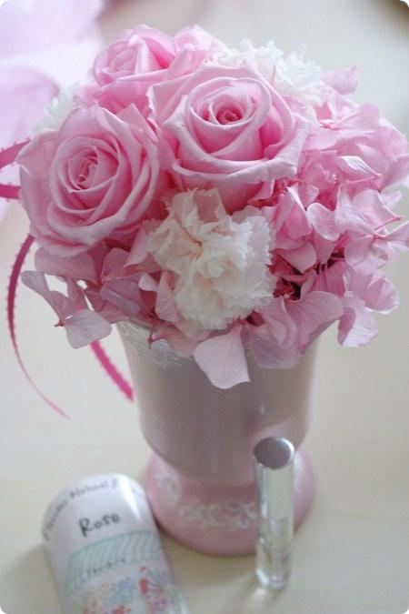 日比谷花壇 母の日ギフトいちおしアイテム プリザーブドアレンジメント シュクレ